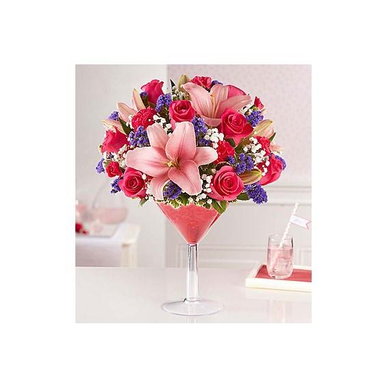 Girls\' Night Out In Martini Glass   1-800-Flowers   Flowerama, Cedar ...