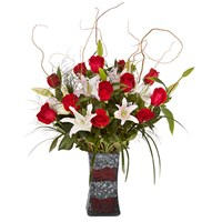 H5040_luxury_dozen_rose_vase_mosaic